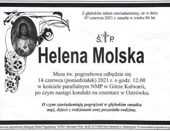 ŚP Helena Molska